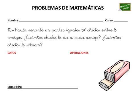 ColecciÓn De Problemas De MatemÁticas 3 º Primaria (11