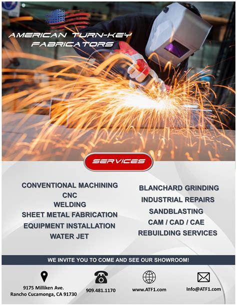 fabrication machine shop american turn key fabricators