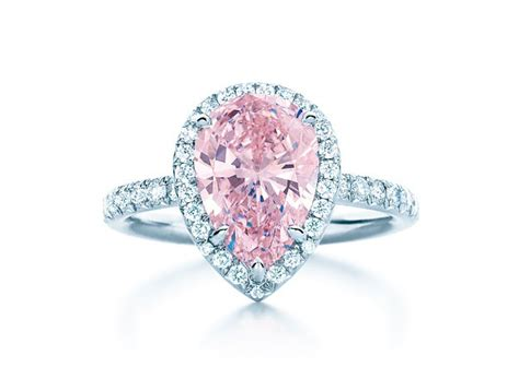 tiffany 2 million pink diamond ring goes to the heart of
