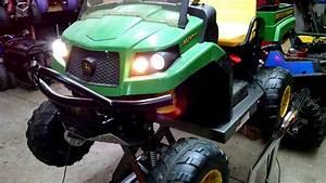 Custom 4x4 24 Volt Peg Perego Gator