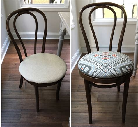 Upholstery For Dining Chairs by No Sew Dining Chair Upholstery Tutorial Learn How To Re