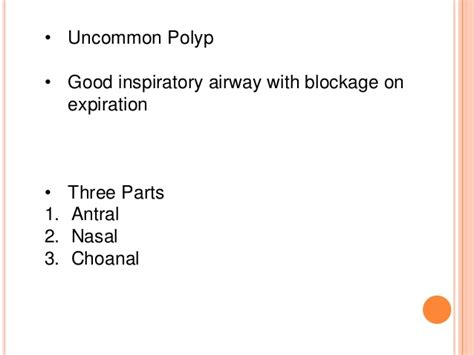 polyp nasal