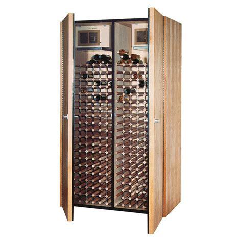 vinotemp  bottle wine cellar  medium walnut vino