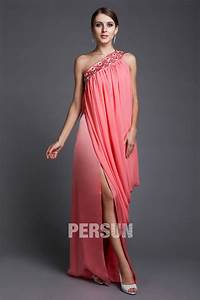 wholesale one shoulder beading pleats side slip india With patron robe en soie
