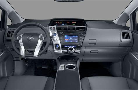 Toyota Prius 2012 Interior by 2012 Toyota Prius V Price Photos Reviews Features