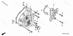 Honda Motorcycle 2006 Oem Parts Diagram For Left Crankcase
