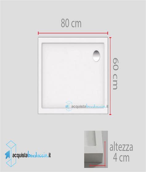 piatto doccia 60x80 vendita piatto doccia 60x80 cm altezza 4 cm