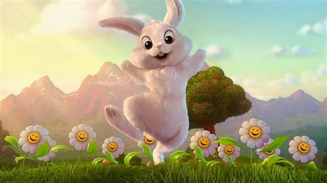 Animated Easter Bunny Wallpaper - easter bunny wallpaper free wallpapers