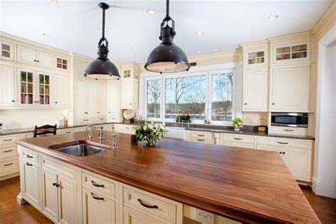 granite top kitchen islands can you live with wood countertops kitchen designs by