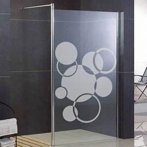 Fenetre Dans Douche : sticker d poli fen tre douche bulles stickers muraux pinterest douche salle de bain et ~ Melissatoandfro.com Idées de Décoration