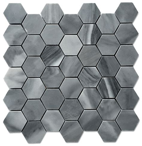 honeycomb mosaic floor tiles graystoke 2x2 quot hexagon honeycomb honed mosaic floor wall tile
