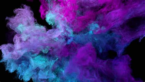 color explosion  black cold stockvideos filmmaterial