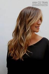 Coiffure Femme Mi Long : coiffure tendance 2018 femme cheveux mi long ~ Melissatoandfro.com Idées de Décoration