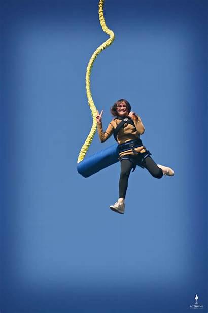 Jumping Bungee Nami Island Korea Travel Artsandwines