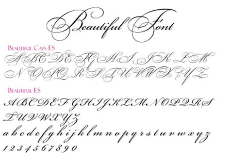 Beautiful Scripts And Fonts by Wedding Font Directory Project Wedding