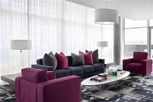 Wohnzimmer Deko Grau : deko wohnzimmer lila wohnzimmer modern tendenzen wohnfarben hell grau lila akzente deko deko ~ Markanthonyermac.com Haus und Dekorationen
