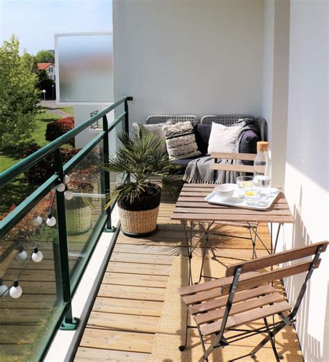amenagement petit balcon terrasse exterieurs en
