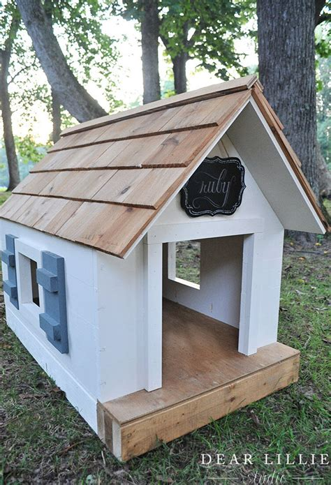 diy doghouse plans  ideas  house  wood
