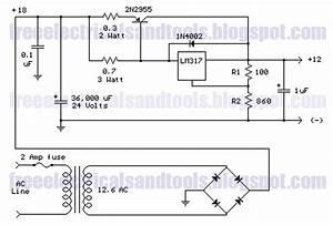 Voltage Regulator Circuit With Pass Transistor