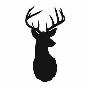 deer with antlers vinyl wall decals graphic by tastysuite With awesome deer decals for walls