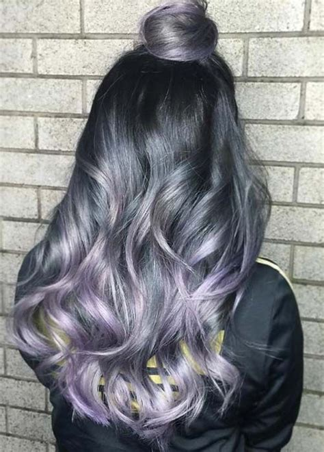 Dying Hair Ideas For Black Hair by Best 25 Grey Hair Dyes Ideas On Silver Hair