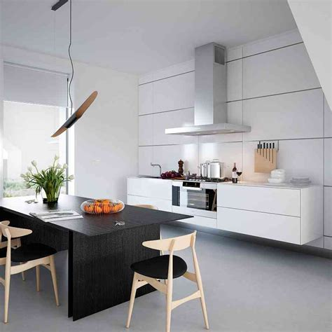 Furniture Awesome Kitchen Island Dining Table Attached