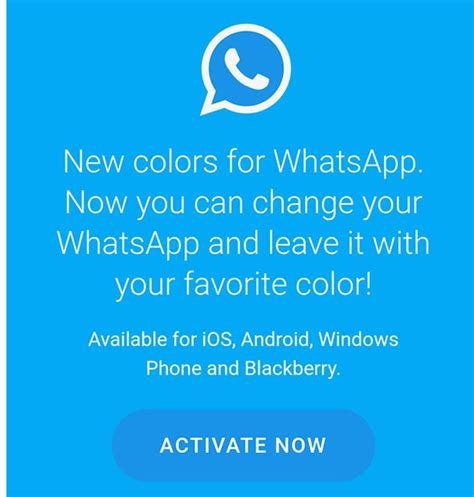 whatsapp color beware of quot new colors for whatsapp function quot it is an