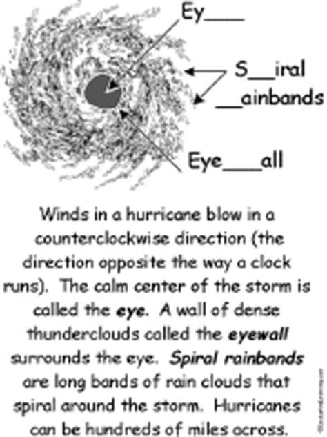 hurricane activities enchantedlearning