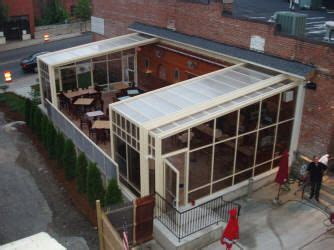 Retractable Sunroom by Trackless Retractable Enclosures Roll A Cover Sunrooms
