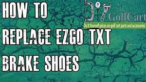 Ezgo Txt Brake Shoes