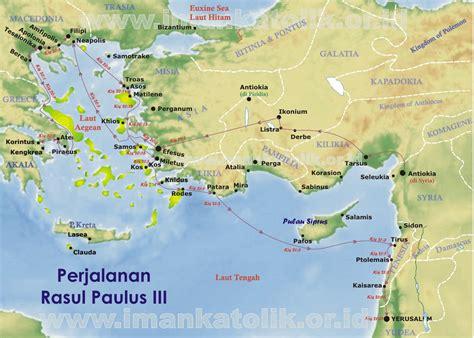 Cytotec Asli Data Hakekat Peta Perjalanan Rasul Paulus
