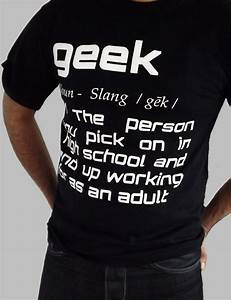 Anvil T Shirts Size Chart Geek Definition Tees Geek Shirts Hq Store