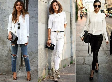 Sexy Ways to Style Your White Button Down Shirt Outfits