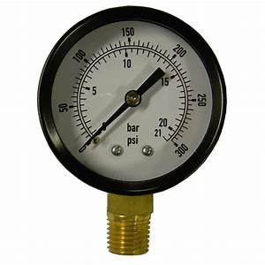 Powermate 300 Psi Pressure Gauge-032-0025rp