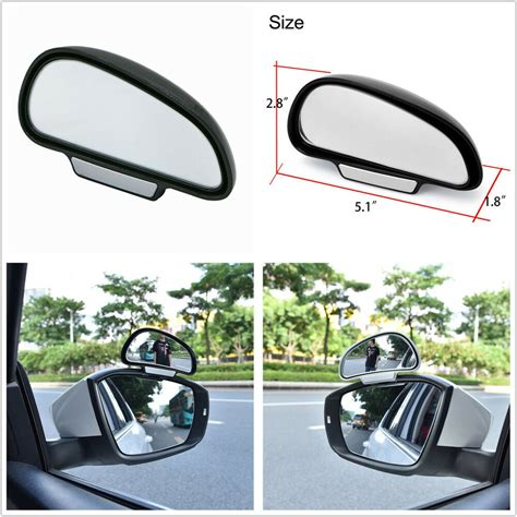 Rear View Mirror Blind Spot by Car Adjustable Wide Angle Side Rear Mirrors Blind Spot