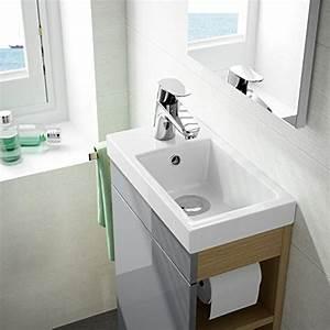 Spiegel Für Gäste Wc : g ste wc badm bel set wt waschbecken mit unterschrank in wei oder anthrazit design spiegel ~ Watch28wear.com Haus und Dekorationen