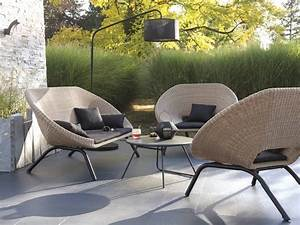 amenager un salon de jardin chic a prix doux joli place With salon de jardin design