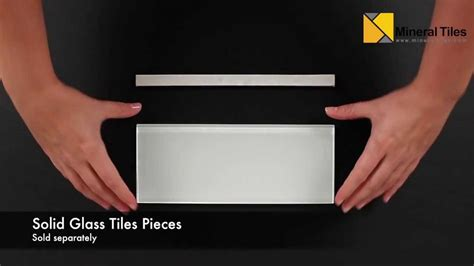 subway glass tile white   pencil liner  edging