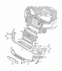 2011 Audi Q5 Attachment Strip