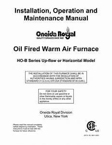 Air Furnace Manuals