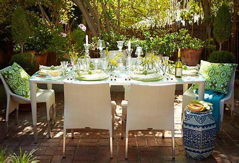 garden table setting ideas ideas for outdoor entertaining