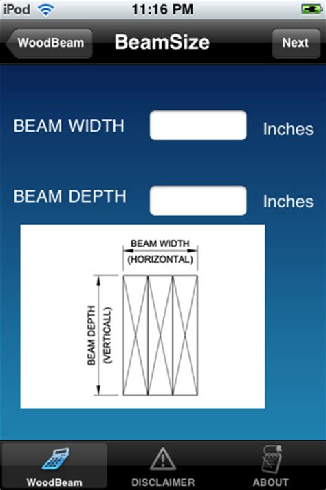 beam and joist calculations woodworking talk wood beam design calculator for construction app for