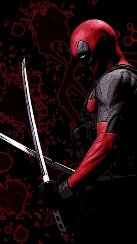 deadpool iphone wallpaper