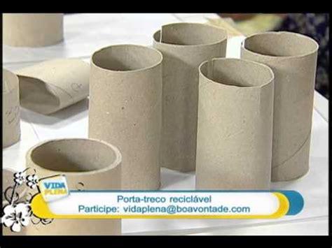 artesanato diy porta treco reciclavel youtube