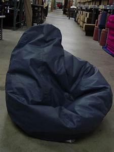 Large, 36, U0026quot, Grey, Blue, Soft, Lounge, Bean, Bag