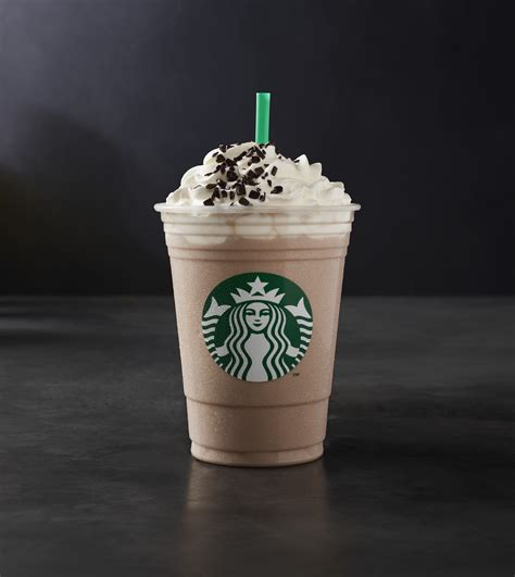 Blend and top with cream, chocolate sauce. Starbucks is releasing its Black and White Mocha Collection for 2018 - HelloGiggles