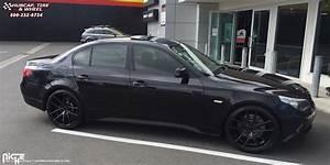 BMW 540i Niche Targa - M130 Wheels Matte Black