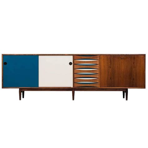 Arne Vodder Sideboard by Arne Vodder Sideboard Model 29a Produced By Sibast In
