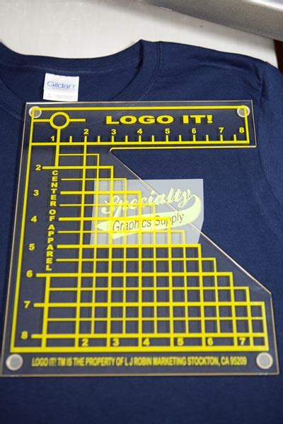 left chest logo placement template logo it left chest alignment tool