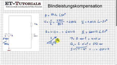 blindleistungskompensation youtube